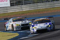 #25 Team Tsuchiya Toyota MC86: Takeshi Tsuchiya, Takamitsu Matsui, #7 BMW Team Studie BMW M6 GT3: Jo