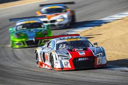 #23 M1 GT Racing Audi R8 LMS: Walt Bowlin, Dion von Moltke, David Ostella