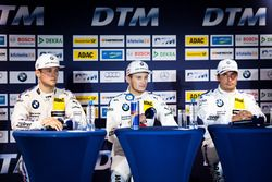 Press Conference: Tom Blomqvist, BMW Team RBM, BMW M4 DTM; Marco Wittmann, BMW Team RMG, BMW M4 DTM; Bruno Spengler, BMW Team MTEK, BMW M4 DTM