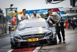 The car of Paul Di Resta, Mercedes-AMG Team HWA, Mercedes-AMG C63 DTM