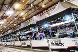 Área de equipo trofeo Drive DMACK Fiesta