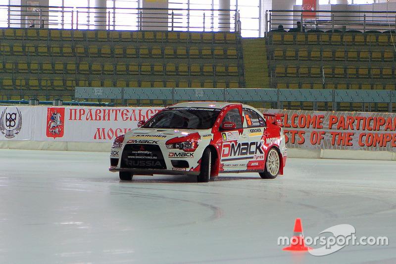 2012 год – Евгений Новиков и Михаил Лепехов, Mitsubishi Lancer EVO X