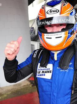 Le poleman GTE Richie Stanaway, Aston Martin Racing
