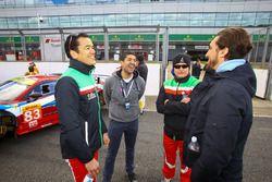 #83 AF Corse Ferrari 458 Italia : Francois Perrodo, Emmanuel Collard, Rui Aguas