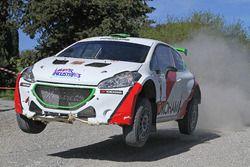 Mauro Trentin, Alice De Marco, Peugeot 208 T16 R5 #01