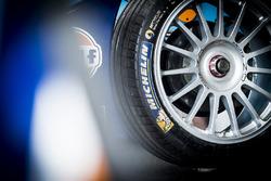 Team Aguri Michelin tyre detail