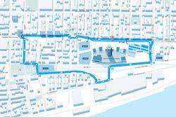 Montreal ePrix track layout