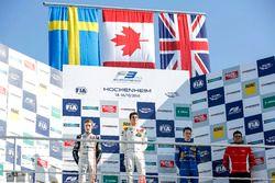 Podyum: 1. Lance Stroll, Prema Powerteam Dallara F312 - Mercedes-Benz; 2. Joel Eriksson, Motopark Da