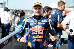 Second place Brad Binder, Red Bull KTM Ajo
