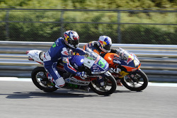 Enea Bastianini, Gresini Racing Team Moto3; Brad Binder, Red Bull KTM Ajo