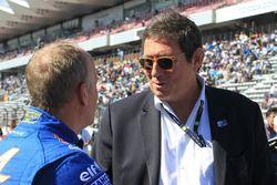 Philippe Sinault, team manager de Signatech Alpine, Gerard Neveu, directeur général du FIA WEC