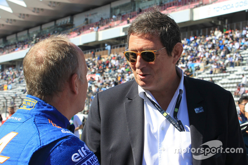 Philippe Sinault, Signatech Alpine Team Manager, Gerard Neveu, CEO FIA WEC