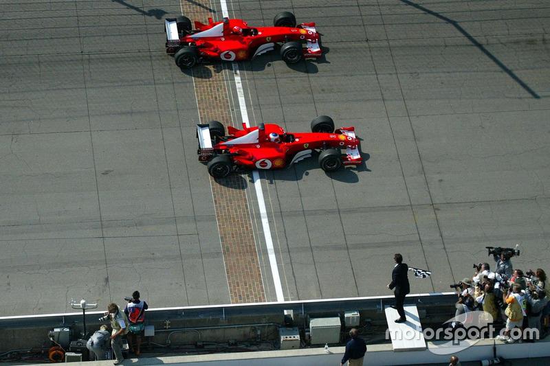 11) 0s011, Rubens Barrichello (BRA), Indianápolis (EUA), Fórmula 1, 2002. 2º: Michael Schumacher