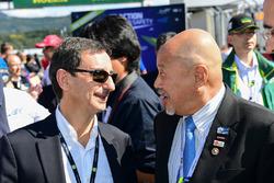 Pierre Fillon, ACO-Präsident, mit Yojiro Terada, ACO-Botschafter