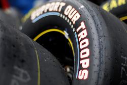 Goodyear-Reifen mit Sonderaufdruck für das All-Star-Wochenende