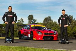 Morgan Haber and Jake Camilleri, BMW M6 GT3