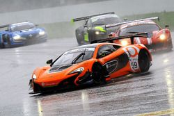 #59 Garage 59 Racing McLaren 650S: Michael Benham, Duncan Tappy