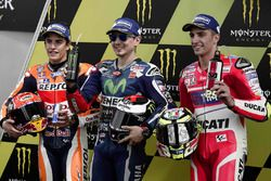 Jorge Lorenzo, Yamaha Factory Racing, Marc Márquez, Repsol Honda Team, Andrea Iannone, Ducati Team
