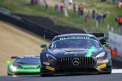 #86 HTP Motorsport, Mercedes AMG GT3: Jules Szymkoviak, Bernd Schneider
