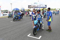 Suzuki Asian Challenge starting grid atmosphere