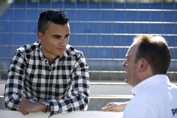 Pascal Wehrlein, Manor and Ullrich Fritz, Team Principal Mercedes-AMG HWA