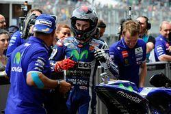 Ganador de la pole Jorge Lorenzo, Yamaha Factory Racing
