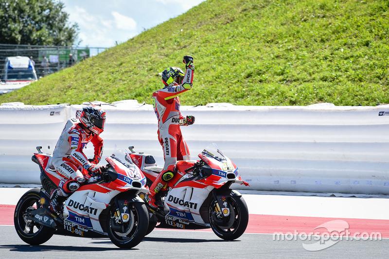 Iannone met fin à six ans d'attente chez Ducati