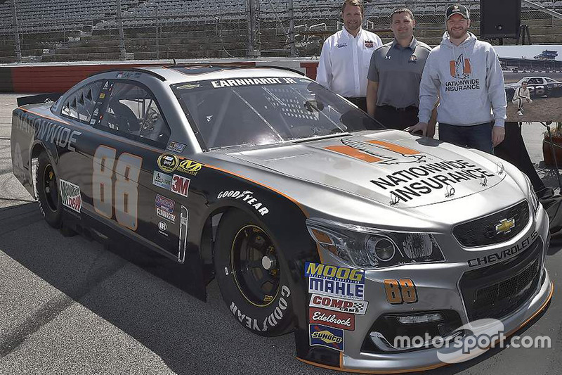 Throwback-Design von Dale Earnhardt Jr., Hendrick Motorsports, Chevrolet (Fahrer: Jeff Gordon)