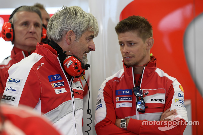 Gigi Dalligna Ducati Corse General Manager At Austrian Gp