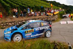 Mads Østberg, Ola Fløene, M-Sport Ford Fiesta WRC