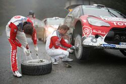 Stéphane Lefebvre, Gilles de Turckheim, Citroën DS3 WRC, Abu Dhabi Total World Rally Team