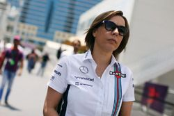 Claire Williams, stellvertretende Williams-Teamchefin