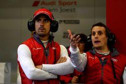 #8 Audi Sport Team Joest Audi R18 e-tron quattro: Lucas di Grassi, Oliver Jarvis