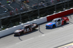 Darrell Wallace Jr., Roush Fenway Racing Ford, Ryan Reed, Roush Fenway Racing Ford