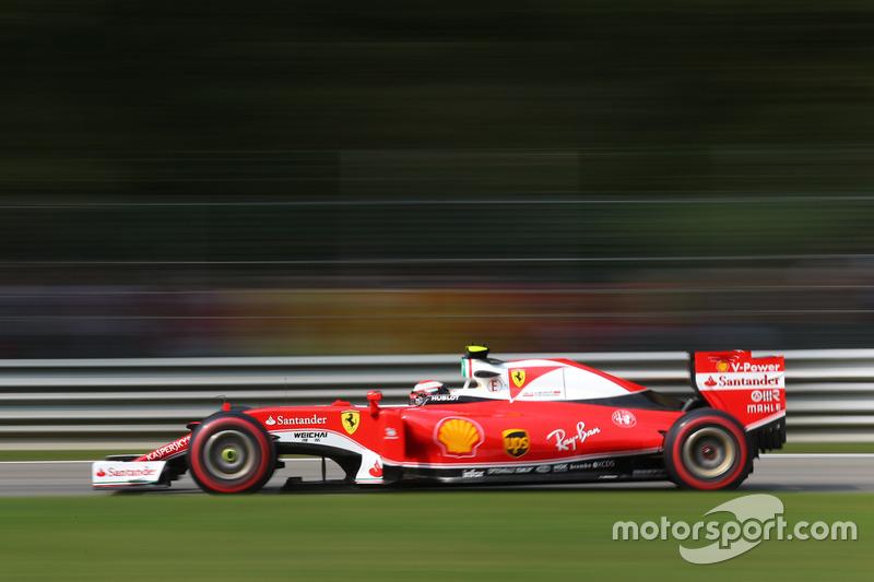 2016 : Kimi Räikkönen, Ferrari SF16-H