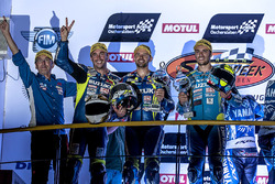 Podium: #1 Suzuki Endurance Racing Team, Suzuki GSX R 1000: Vincent Philippe, Anthony Delhalle, Etienne Masson