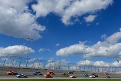 Daniel Suarez, Joe Gibbs Racing Toyota, Kyle Busch, Joe Gibbs Racing Toyota