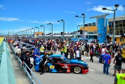 The FARA Race of Champions pre-race fan grid walk