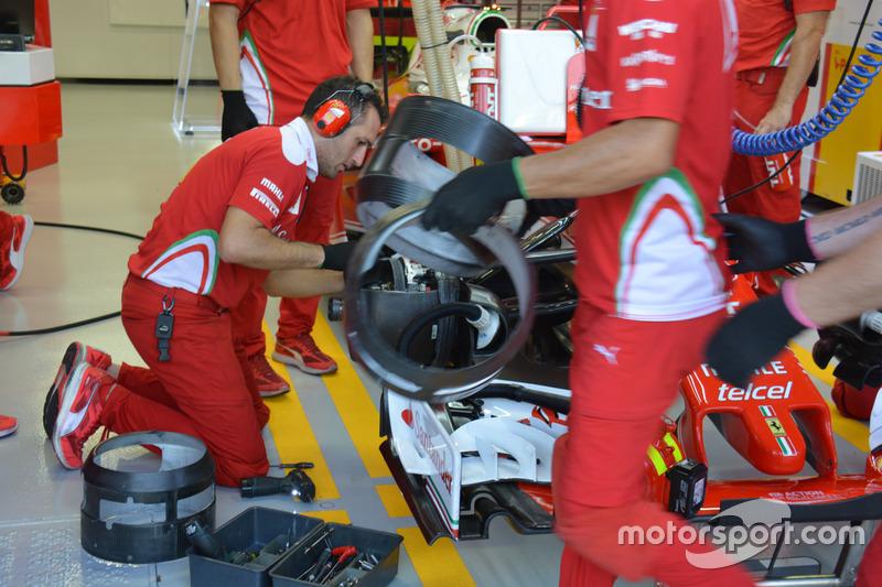 Ferrari SF16-H: Bremsen