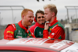 Ashley Sutton and Josh Cook, MG Racing RCIB Insurance