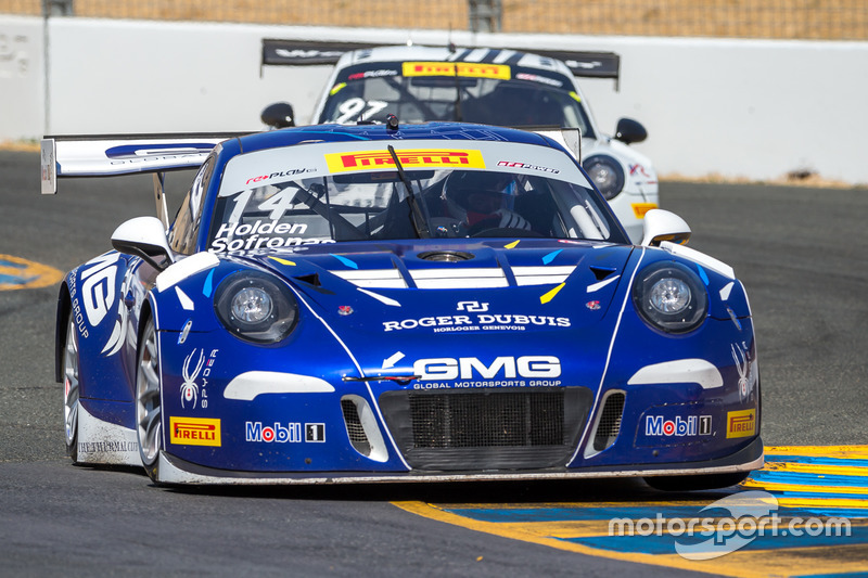 #14 GMG Racing Porsche 911 GT3R: James Sofronas
