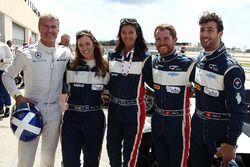 David Coulthard, Brian Vickers, Daniel Ricciardo,