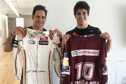 Matt Lombardi ve Lance Stroll, Prema Powerteam