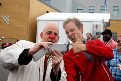 Mattias Ekström, Audi Sport Team Abt Sportsline, Audi A5 DTM mit einem Clown