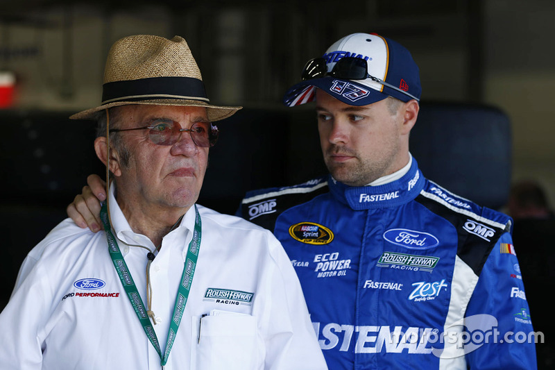 Jack Roush, und Ricky Stenhouse Jr., Roush Fenway Racing Ford