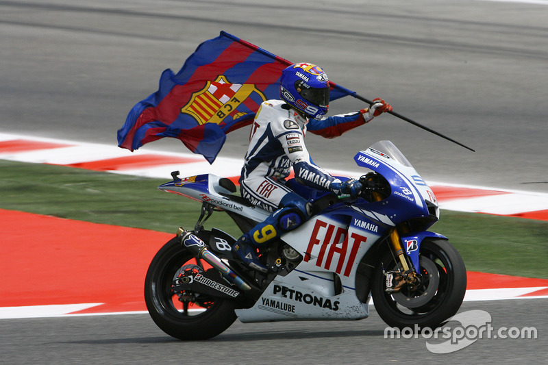 2009: MotoGP, 2º - Jorge Lorenzo - Yamaha