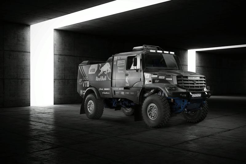 Der neue Kamaz Master Team Truck