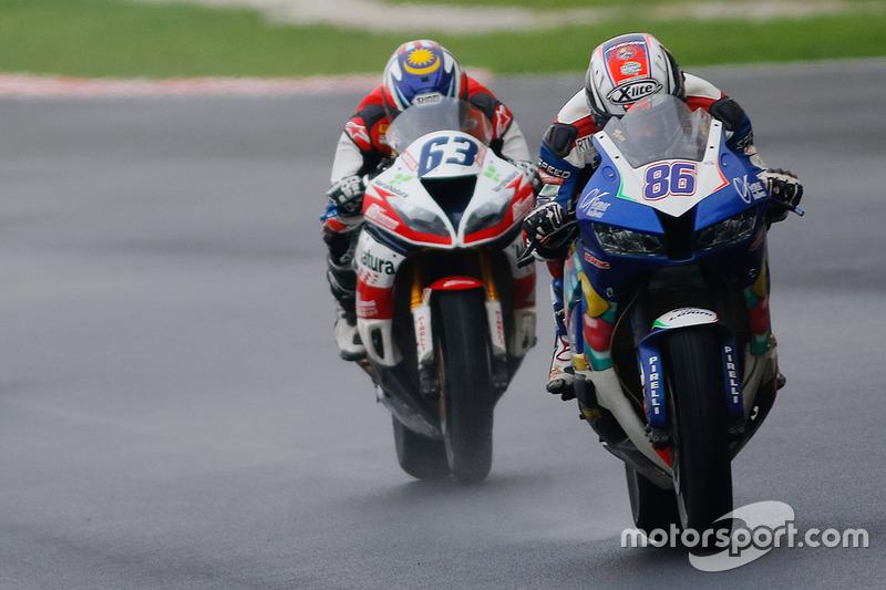 Ayrton Badovini, Honda, Zulfahmi Khairuddin, Kawasaki