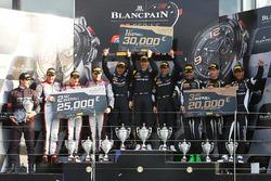 Race winners #84 HTP Motorsport, Mercedes-AMG GT3: Maximilian Buhk, Dominik Baumann, Jazeman Jaafar,