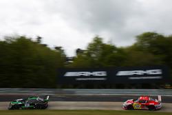 Stefan Mücke, Renger Van der Zande, Christian Hohenadel, HTP Motorsport, Mercedes AMG GT3; Adam Osie